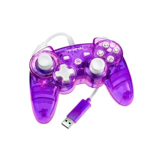 Rock Candy PS3 Wired Controller (Purple)