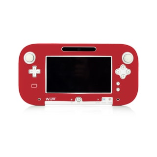 Silicone Jacket for Wii U GamePad (Red)