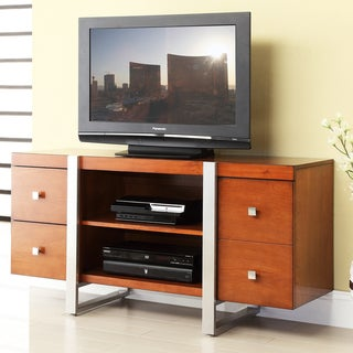 Cherry Finish Tyrone 52-inch Console