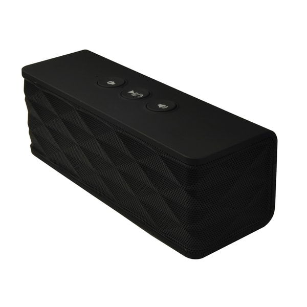 Supersonic Wireless Portable Bluetooth Speaker with Built-in Microphone