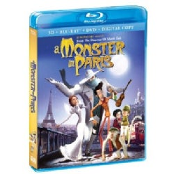 A Monster In Paris 3D (Blu-ray/DVD)