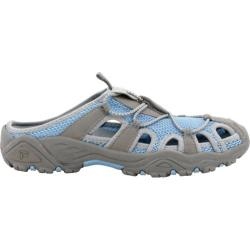 Women's Propet Discover Slide Light Blue/Grey
