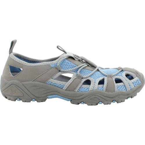 Women's Propet Discovery Light Blue/Grey