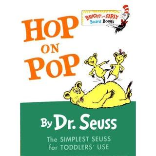 Hop on Pop (Board book)