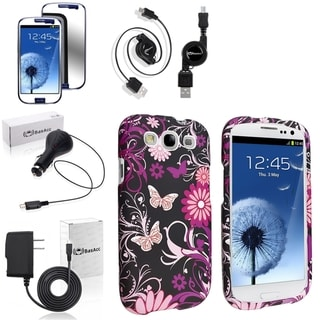 BasAcc Case/ Screen Protector/ Chargers/ Cable for Samsung� Galaxy S3