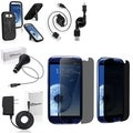 BasAcc Case/ Screen Protector/ Chargers/ Cable for Samsung Galaxy S3