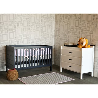 Baby Mod Modena 3-in-1 Crib in Navy