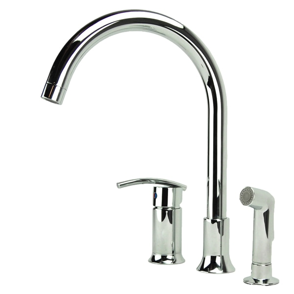 Fontaine Vincennes Single-handle Chrome Kitchen Faucet with Side Spray