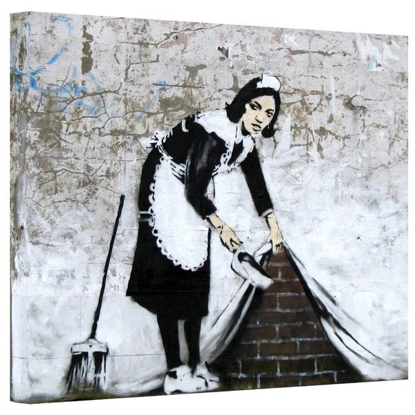 Art Wall 'Maid Sweeping' Gallery Wrapped Canvas
