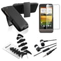 BasAcc Swivel Holster/ Protector/ Wrap/ Headset for HTC One V