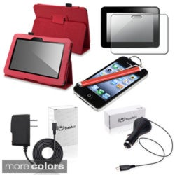 BasAcc Case/ Protector/ Charger/ Stylus for Amazon Kindle Fire HD 7-inch