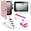BasAcc Pink Case/ Protector/ Wrap/ Headset/ Stylus for Kindle Fire HD