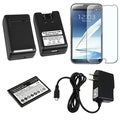 BasAcc Battery/ Charger/ Charger/ Protector for Samsung Galaxy Note