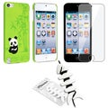 BasAcc Panda Case/ Screen Protector/ Wrap for Apple iPod Generation 5