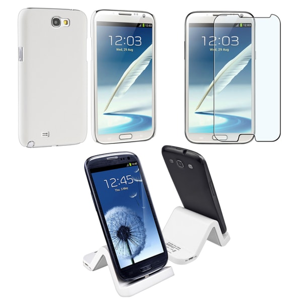 BasAccCase/ Protector/ Cradle for Samsung Galaxy Note II/ S IV Mini i9190