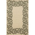 Vine Border Casual Outdoor Rug (4'11 x 7'6)