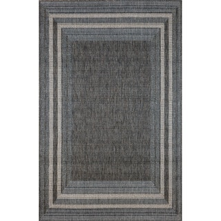 Sonoma Border Outdoor Rug (7'10 x 9'10)