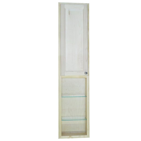 Baldwin 66 Inch Natural Recessed Pantry Storage Cabinet With 30 Inch Shelf 15086851