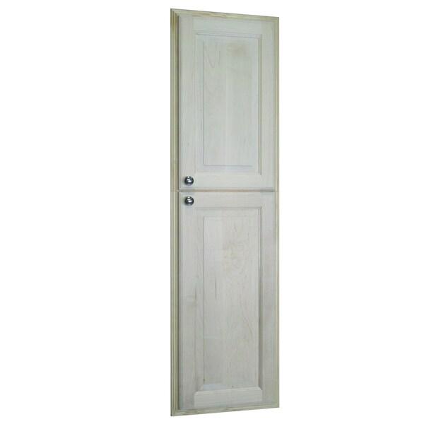 Baldwin 54-inch Natural Recessed Pantry Storage Cabinet