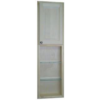 Baldwin 54 Inch Natural Recessed Pantry Storage Cabinet