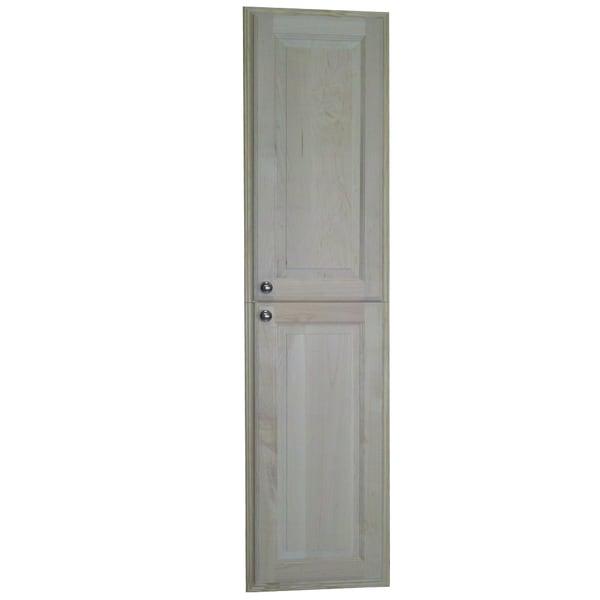 Baldwin 60-inch Natural Recessed Pantry Storage Cabinet