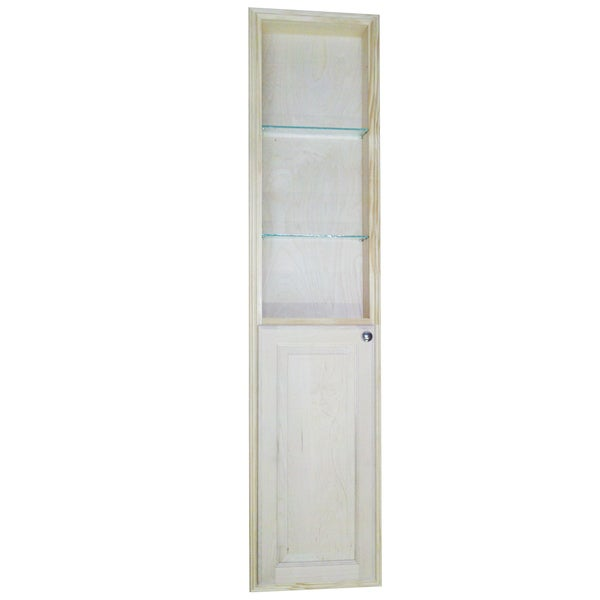 Baldwin 66 Inch Natural Recessed Pantry Storage Cabinet With 36 Inch Shelf 15086858