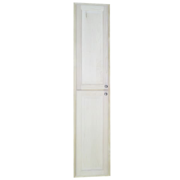 Baldwin 72-inch Natural Recessed Pantry Storage Cabinet