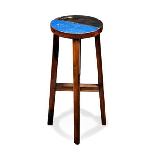 Furniture Ipanema Reclaimed Wood Stool