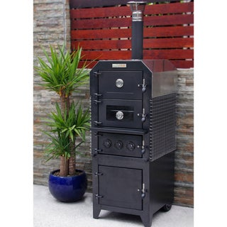EcoQue Wood-Fired Pizza Oven and Smoker
