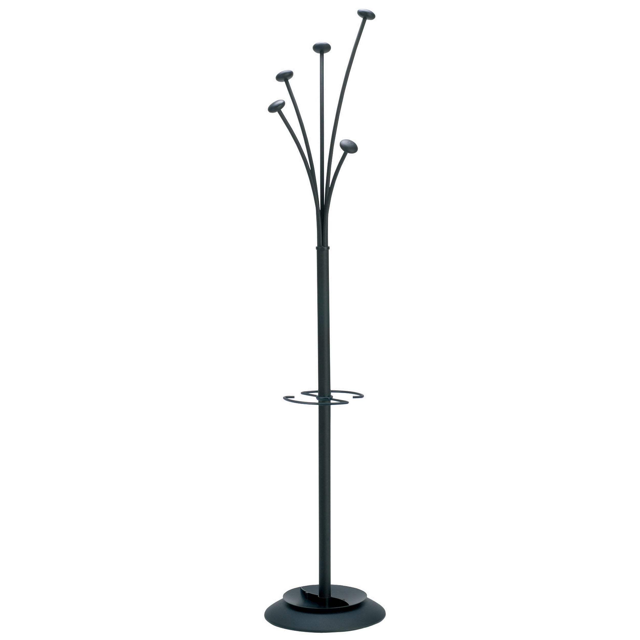 Alba Festival Modern Large-Capacity Indoor Coat Stand with Umbrella Holder at Sears.com