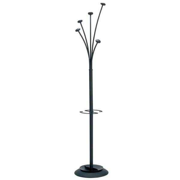 Alba Festival Modern Large-Capacity Indoor Coat Stand with Umbrella Holder