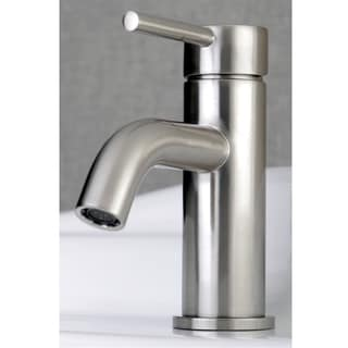Single Handle Chrome Bathroom Faucet with Pop-up Drain