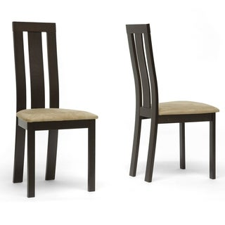 Verona Dark Brown Modern Dining Chairs (Set of 2)
