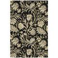 Hand-tufted Gatsby Black Rug (8' x 10'6)