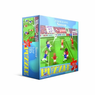 Eurographics 60-piece Soccer Jigsaw Puzzle (19x13)