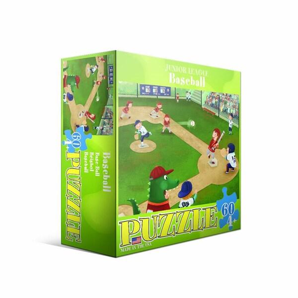 Eurographics 60-piece Baseball Jigsaw Puzzle (19x13)