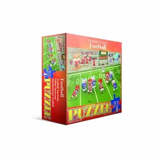Eurographics 60-piece Football Jigsaw Puzzle (19x13)