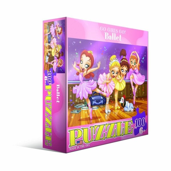 Eurographics 100-piece Ballet Jigsaw Puzzle (19x13)