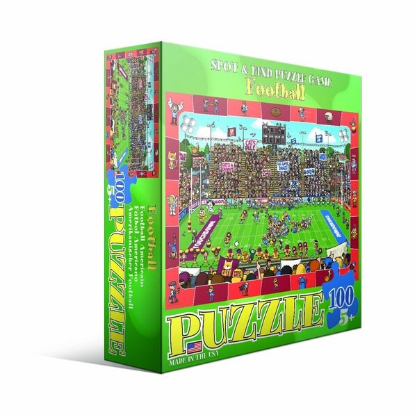 Eurographics 100-piece Football Jigsaw Puzzle (19x13)