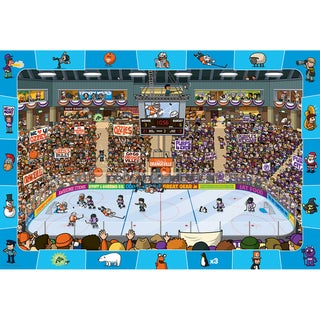 Eurographics 100-piece Hockey Jigsaw Puzzle (13x19)