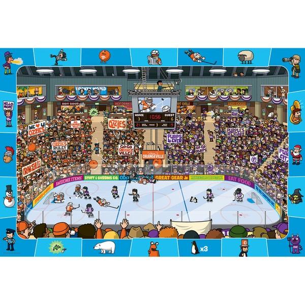 Eurographics 100-piece Hockey Jigsaw Puzzle (13x19)