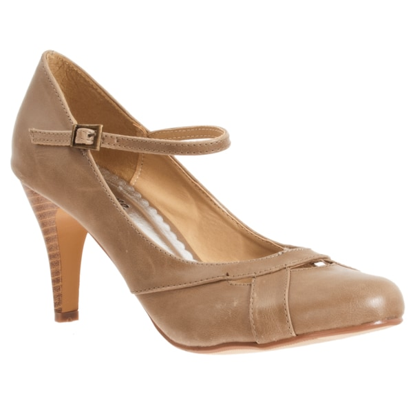Riverberry Women's 'Vienna' Ankle-strap Stiletto Heels