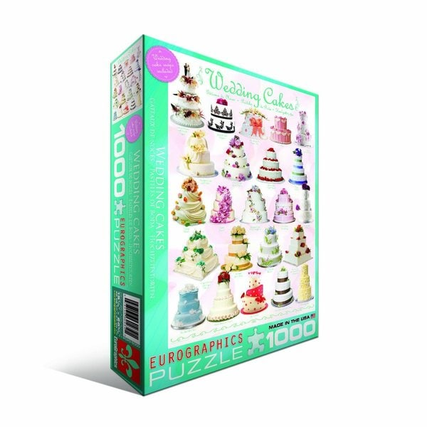 Eurographics 100-piece Wedding Cakes Jigsaw Puzzle