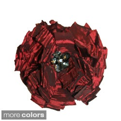 Rose Taffeta Magnetic Brooch