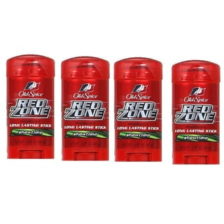 Old Spice Red Zone Showtime Deodorant (Pack of 4)