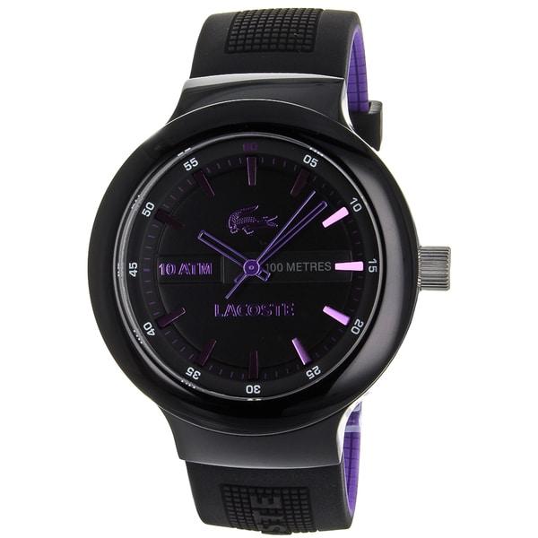 Lacoste Men's Borneo Black Watch