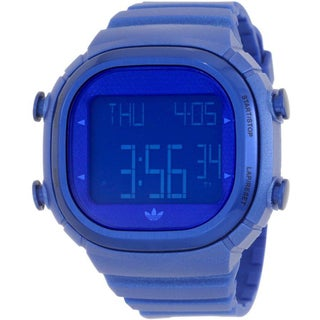 Adidas Men's 'Seoul' Blue Digital Sport Watch