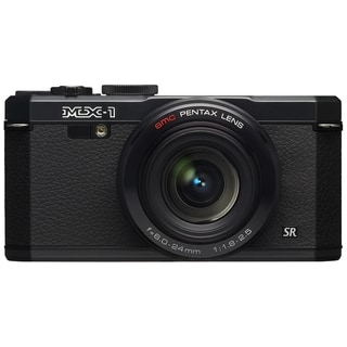 Pentax MX-1 12 Megapixel Compact Camera - Black