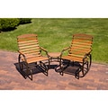 Country Garden Promo Tete-a-tete Glider Chairs (Set of 2)