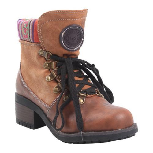 Women's Reneeze Annie-01 Camel Ankle Boots
